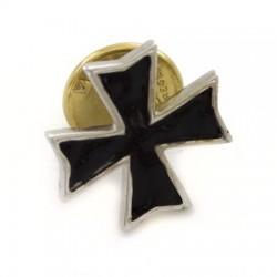 Spilla Croce Templare quadrata