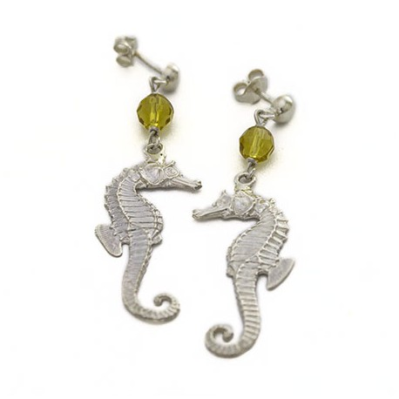 Cavallucci marini topazio giallo