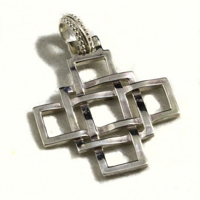 Croce celtica quadrata grande