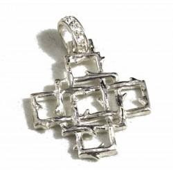 Croce quadrata con spine