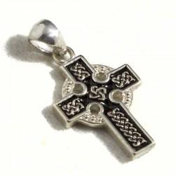 Croce celtica smaltata piccola